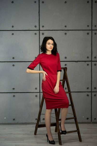 Красное платье купить