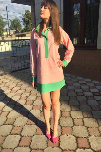 Платье рубашка купить