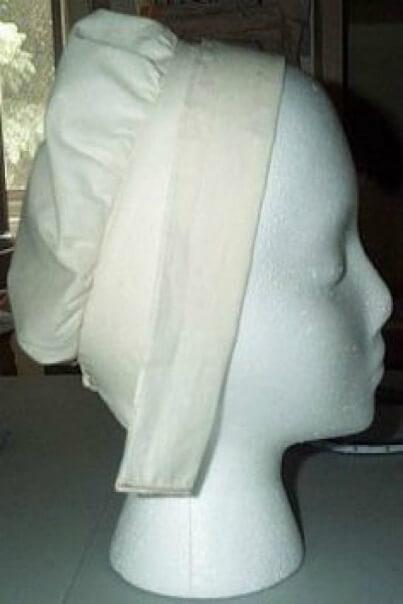 Модный головной убор XXвв