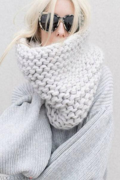 Фото шарфа