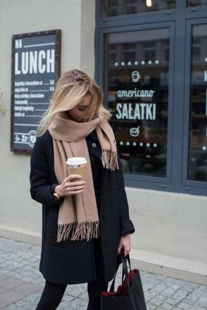 Фотография шарфа