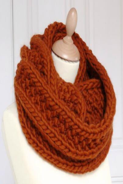 Круглый шарф как называется